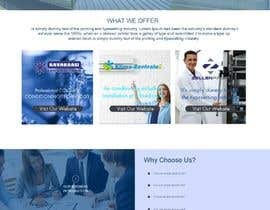 #21 cho Mockup Design for company website bởi Akash0075