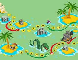 #38 para Illustrate a mobile game map por nk343652