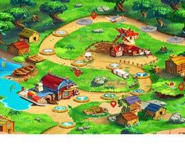 #43 para Illustrate a mobile game map por nk343652