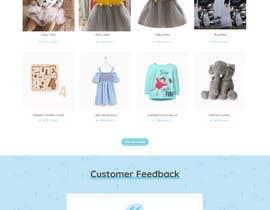 #12 para Build me a website to SELL baby clothing por kewlneha
