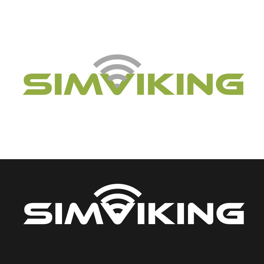 Inscrição nº                                         8                                      do Concurso para                                         Logo Design for SIMVIKING ApS