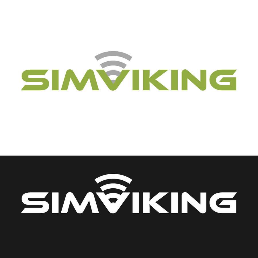 Inscrição nº                                         9                                      do Concurso para                                         Logo Design for SIMVIKING ApS