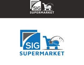 #121 para Create a logo for a Supermarket por Bros03