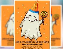Nro 84 kilpailuun Quick Invitation Design, Halloween Birthday käyttäjältä Codeitsmarts