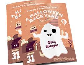 Nro 93 kilpailuun Quick Invitation Design, Halloween Birthday käyttäjältä rakeshcreatives