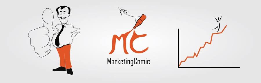 Inscrição nº 1 do Concurso para Comic/cartoon, Banner Design for my website header