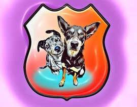#60 for CARTOON DESIGN LOGO OF DOGS by tarkan0099
