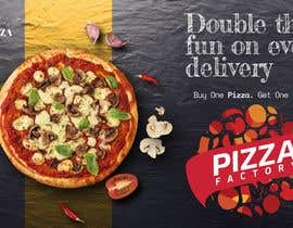 Nro 18 kilpailuun Branding mockups for Pizza company käyttäjältä daniyaljd