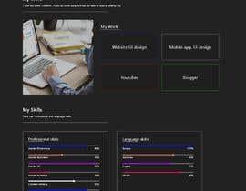 Nro 23 kilpailuun Design Personal Website käyttäjältä zalakrajaopi