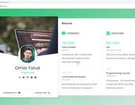 Nro 15 kilpailuun Design Personal Website käyttäjältä shadhin360