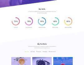 Nro 29 kilpailuun Design Personal Website käyttäjältä SonalChauhan123