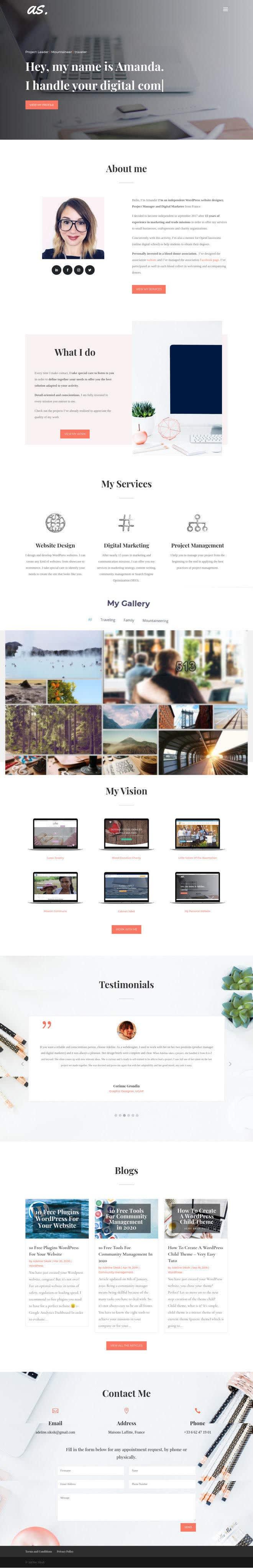 Kilpailutyö #                                        14                                      kilpailussa                                         Design Personal Website