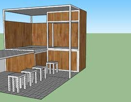 #5 для I need a design/ layout/ 3D model for a 3*4m spice & herbs  kiosk/stand in a shopping center. от rizuishan