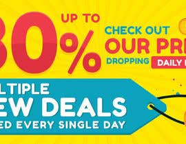 #15 for Need Daily Deals banners for My Website af darbarg