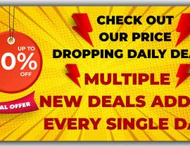 #70 for Need Daily Deals banners for My Website af roshiduix