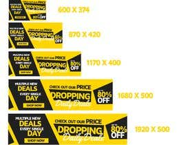 #78 for Need Daily Deals banners for My Website af bragadomariel22