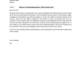 #28 cho Letter for monies owed bởi mehmoodfaisal61