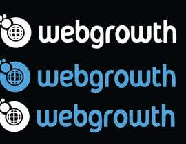 johirulislamtanv tarafından Create Black Background Logo for WebGrowth.com için no 99
