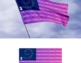 nº 24 pour graphic designer for a renditon of American Flag par vishnugb11