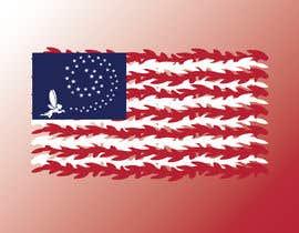 nº 10 pour graphic designer for a renditon of American Flag par TobyGFX
