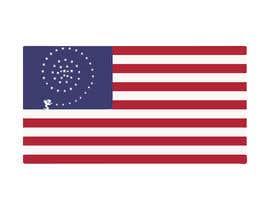 nº 8 pour graphic designer for a renditon of American Flag par Ian2201