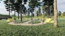 Build a 3D rendering layout of a campground için AutoCAD6 No.lu Yarışma Girdisi