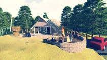 Build a 3D rendering layout of a campground için AutoCAD8 No.lu Yarışma Girdisi
