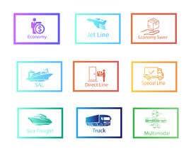 #90 untuk Group of shipping type icon oleh aliashraf2p