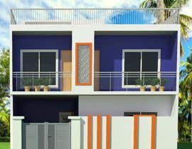 #20 for G+1 Building Front Elevation by shahab61