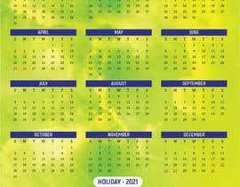 Nro 59 kilpailuun calendar design käyttäjältä mhmunnanet