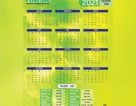 Nro 60 kilpailuun calendar design käyttäjältä mhmunnanet