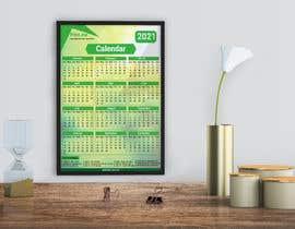Nro 62 kilpailuun calendar design käyttäjältä designersajal34