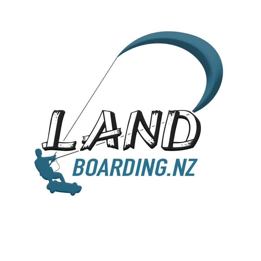 Konkurrenceindlæg #                                        77                                      for                                         Logo design for Kite Landboarding, e.g. Kitesurfing, mountainboarding