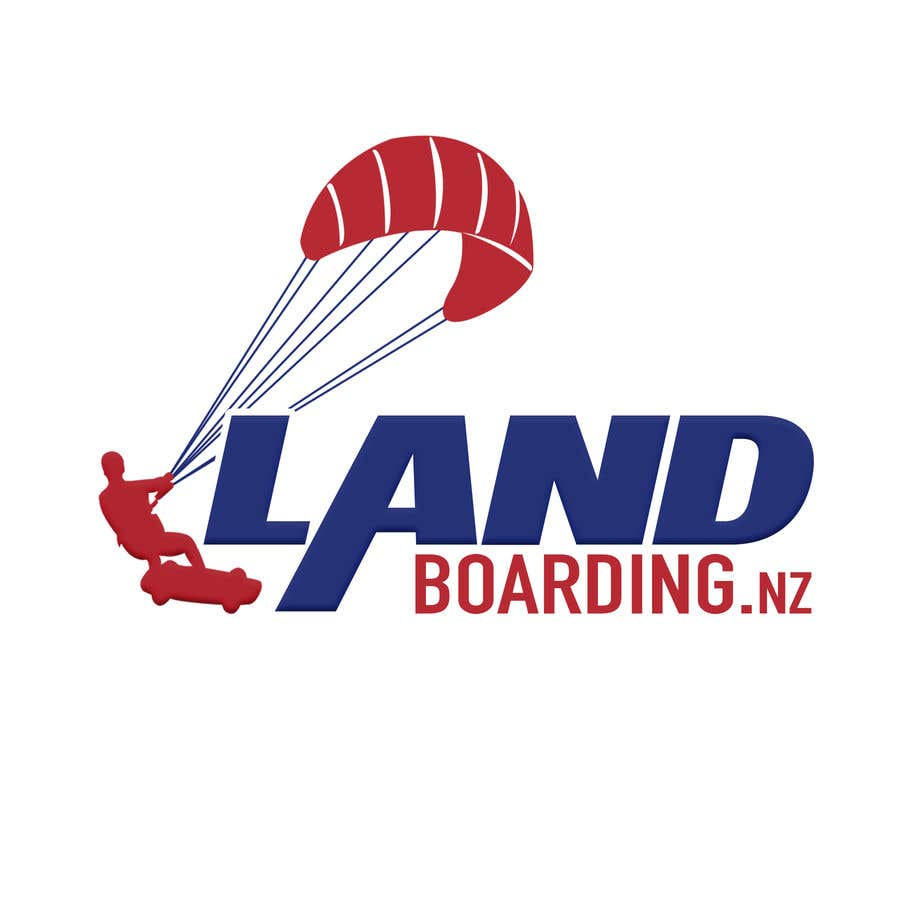Konkurrenceindlæg #                                        87                                      for                                         Logo design for Kite Landboarding, e.g. Kitesurfing, mountainboarding