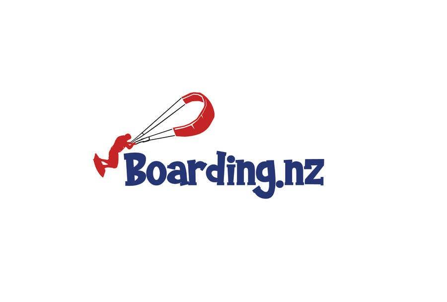 Penyertaan Peraduan #                                        19                                      untuk                                         Logo design for Kite Landboarding, e.g. Kitesurfing, mountainboarding