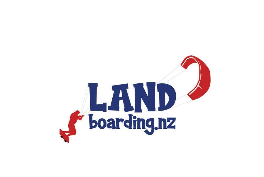 Konkurrenceindlæg #                                        70                                      for                                         Logo design for Kite Landboarding, e.g. Kitesurfing, mountainboarding
