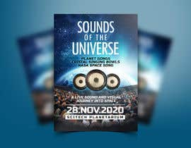 #165 for Design an A3 poster for a live music event with space theme. af ivaelvania
