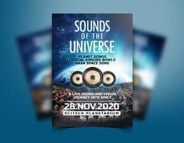 Nro 165 kilpailuun Design an A3 poster for a live music event with space theme. käyttäjältä ivaelvania