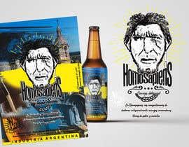 #11 para etiquetas logo cerveza artesanal homosapiens de nataliajaime