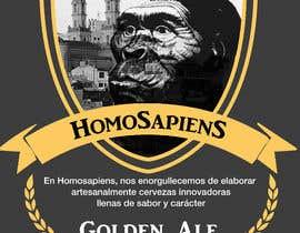 #26 para etiquetas logo cerveza artesanal homosapiens de HernanMWDG