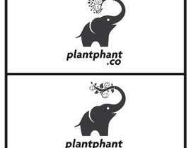 Nro 82 kilpailuun Logo for plantphant.co käyttäjältä ShaXmeen