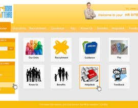 nº 11 pour Modify an existing Intranet Site for a department sub unit par dnljhn