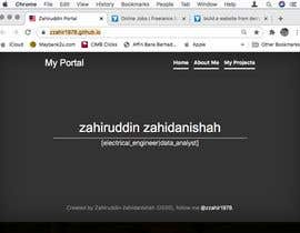 #28 for build a website from design af zzahir1978