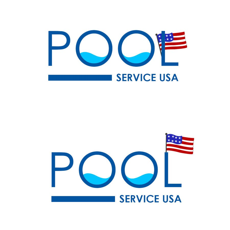 Konkurrenceindlæg #                                        14                                      for                                         Pool Service USA Logo