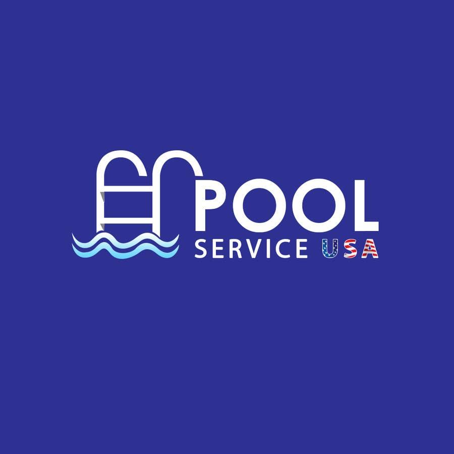 Participación en el concurso Nro.                                        40                                      para                                         Pool Service USA Logo