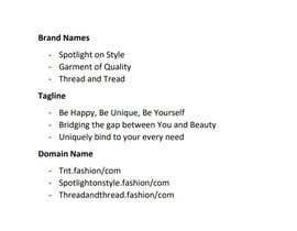 #6 untuk Brand Name & Tagline Selection oleh BenonniXI
