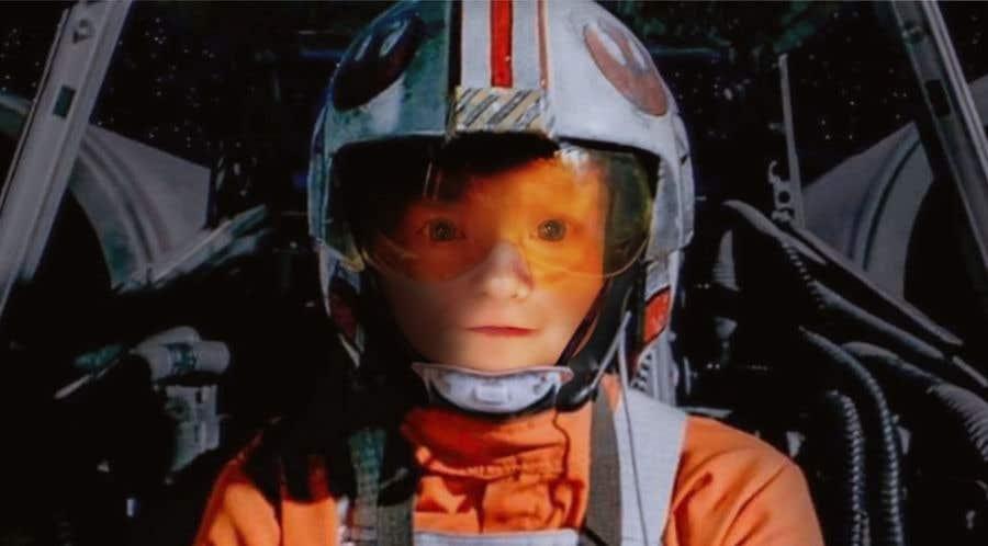 Inscrição nº                                         104                                      do Concurso para                                         Photoshop my son into this Star Wars Picture