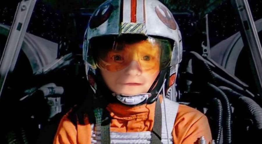 Inscrição nº                                         116                                      do Concurso para                                         Photoshop my son into this Star Wars Picture