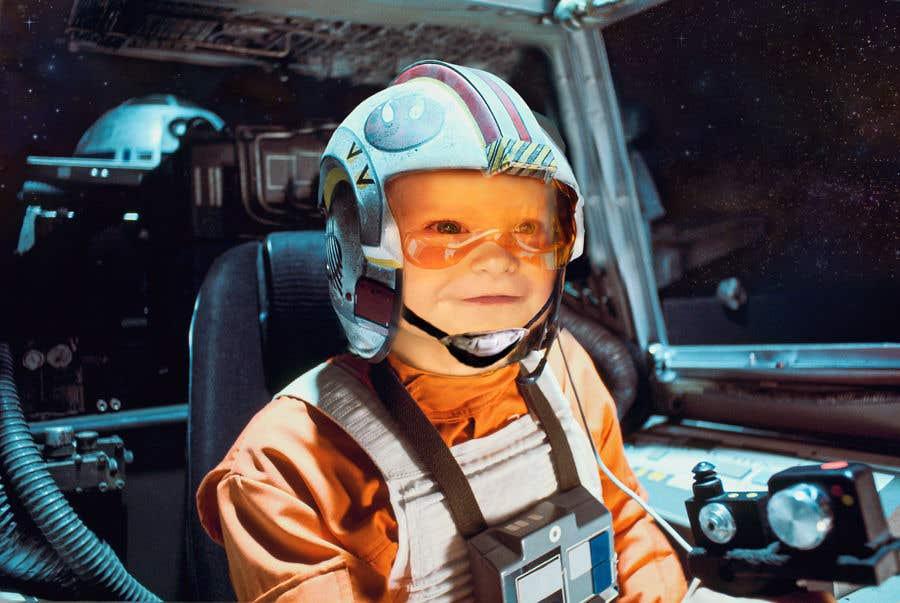 Inscrição nº                                         130                                      do Concurso para                                         Photoshop my son into this Star Wars Picture