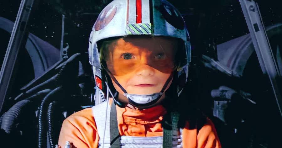Inscrição nº                                         179                                      do Concurso para                                         Photoshop my son into this Star Wars Picture